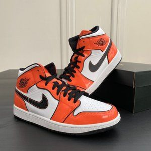 Air Jordan 1 Mid - Turf Orange